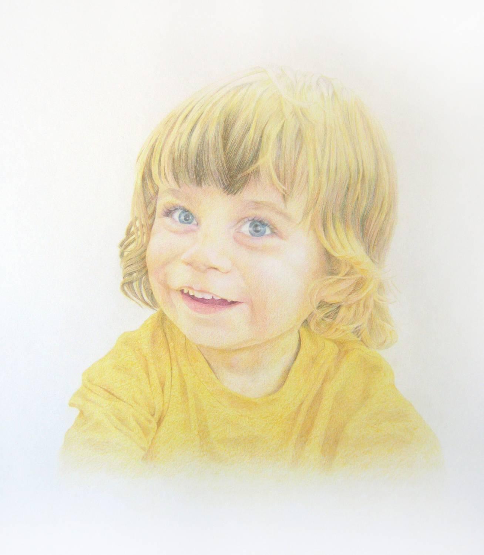 Фото ребенок с акварелью